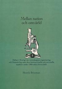Mellan nation och omvärld - Henrik Brissman pdf epub