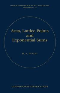 Area, Lattice Points, and Exponential Sums
