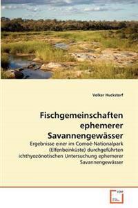 Fischgemeinschaften Ephemerer Savannengewasser