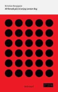 30 forsøk på å si at jeg savner deg - Kristian Bergquist pdf epub