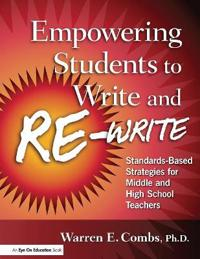 Empowering Students to Write and Re-write