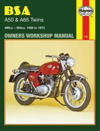 BSA A50 & A65 Twins Owners Workshop Manual: 499cc 654cc. 1962 to 1973