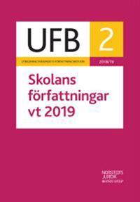 UFB 2 vt Skolans författningar 2019