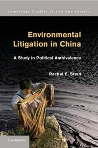 Environmental Litigation in China