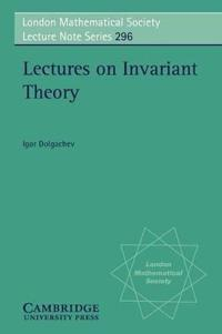 Lectures on Invariant Theory