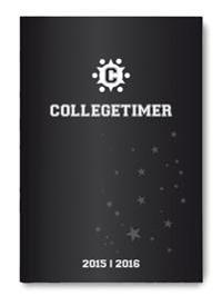 Collegetimer A5 Tag Black Label 2019/2020