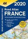 AA Road Atlas France 2020