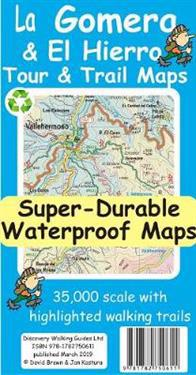La GomeraEl Hierro TourTrail Super-Durable Maps