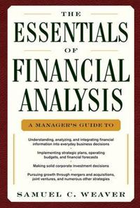The Essentials of Financial Analysis