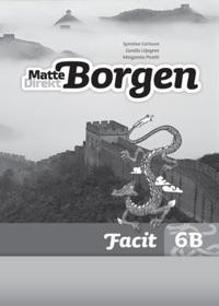 Matte Direkt Borgen Facit 6B (5-pack) Ny upplaga - Synnöve Carlsson, Gunilla Liljegren, Margareta Picetti | Laserbodysculptingpittsburgh.com