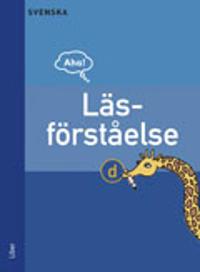 Aha Svenska-Läsförståelse D