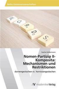 Nomen-Partizip II-Komposita
