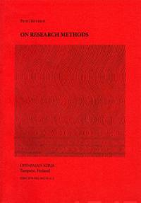 On research methods