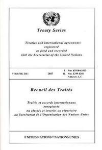 Treaty Series/ Recueil Des Traites
