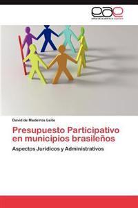 Presupuesto Participativo En Municipios Brasilenos