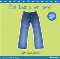 Fire piger, et par jeans