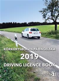 Körkortsboken på Engelska 2019: driving licence book