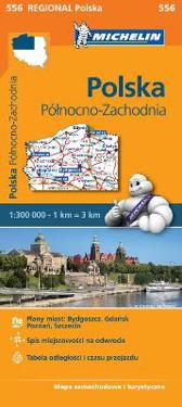 Poland North West - Michelin Regional Map 556