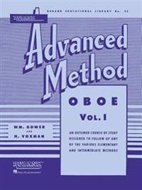 Rubank Advanced Method - Oboe Vol. 1