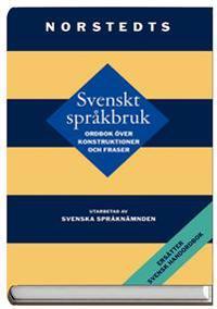 Svenskt språkbruk - ordbok över konstruktioner och fraser