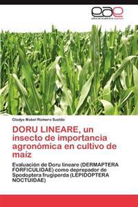 Doru Lineare, Un Insecto de Importancia Agronomica En Cultivo de Maiz