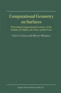 Computational Geometry on Surfaces