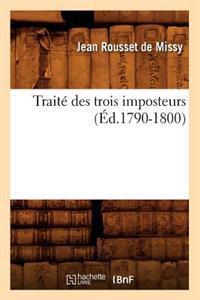 Traite Des Trois Imposteurs (Ed.1790-1800)