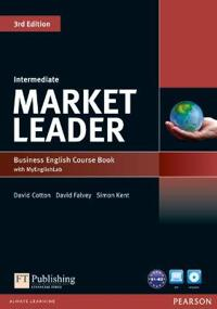 Market Leader 3rd Edition Intermediate Coursebook with DVD-ROM and MyLab Access Code Pack
