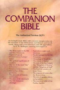 Companion Bible (Black)Genuine Leather