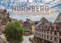 NÜRNBERG Historisches Stadtherz (Wandkalender 2020 DIN A4 quer)