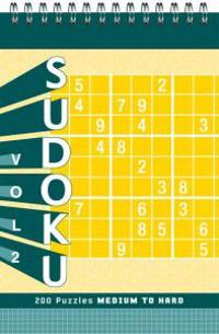 Sudoku: Volume 2: Medium to Hard