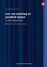 Lov om endring av juridisk kjønn - Lars Andre Strøm Arnesen | Inprintwriters.org