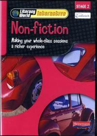 Literacy World Interactive Stage 2 Non-Fiction Single User Pack Version 2 Framework