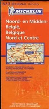 Michelin: Belgium North & Central