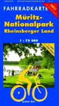 Müritz-Nationalpark - Rheinsberger Land 1 : 75 000 Fahrradkarte