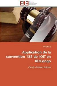 Application de la Convention 182 de l'Oit En Rdcongo