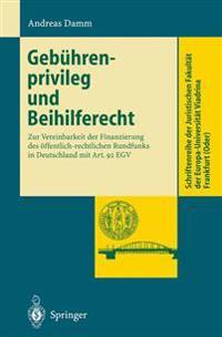 Gebuhrenprivileg Und Beihilferecht
