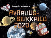Avaruusseikkailu 2020 seinäkalenteri