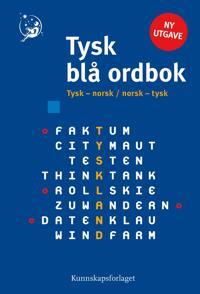 Tysk blå ordbok - Gerd Paulsen | Inprintwriters.org