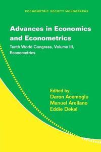 Advances in Economics and Econometrics