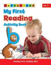 My first reading activity book - develop early reading skills