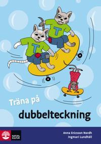 Träna på svenska Dubbelteckning (5-pack)