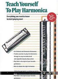 Alfred's Teach Yourself to Play Harmonica: Everything You Need to Know to Start Playing Now!, Book & Harmonica