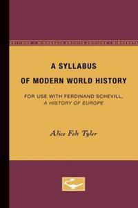 A Syllabus of Modern World History