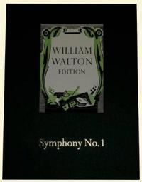 William Walton Edition Symphony No 1