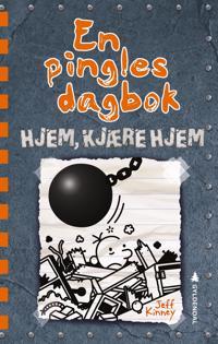 Hjem, kjære hjem; En pingles dagbok (del 14) - Jeff Kinney   Inprintwriters.org