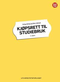 Kjøpsrett til studiebruk - Erling Selvig, Kåre Lilleholt pdf epub