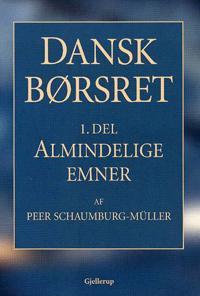 Dansk børsret-Almindelige emner
