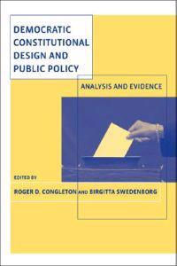 Democratic Constitutional Design and Public Policy