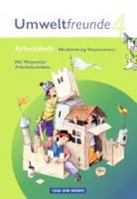 Umweltfreunde 4. Schuljahr. Arbeitsheft Mecklenburg-Vorpommern